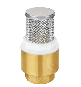 Brass foot valve ssf-40170