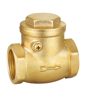 Brass swing check valve ssf-40220